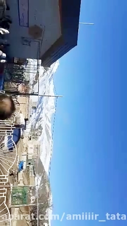 فوری سقوط هواپیما جنگی در دامنه کوه سبلان