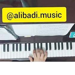 آموزش پیانو  - Non Legato  - تمرین های اول