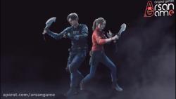 تریلر کراس اور بین Resident Evil 2 Remake و Monster Hunter World: Iceborne