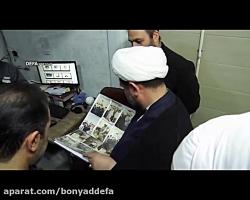 فیلم/ بازدید رئیس اداره عقیدتی سیاسی ستادکل نیروهای مسلح از خبرگزاری دفاع مقدس