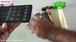 آزمایش مقاومت صفحه نمایش گوشی ردمی نوت 8 پرو در مقابل ضربات