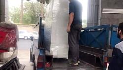 ویدیو حمل تجهیزات تست کارایی سامانه به زنجان -آوا هونام پلیمر