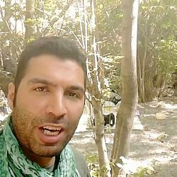 حسین قالیباف در دره کنگ