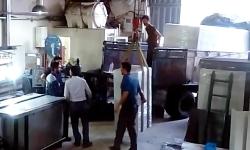 ویدیو حمل تجهیزات ازمایشگاه لوله و اتصالات پلی اتیلن به کرمان-آوا هونام پلیمر