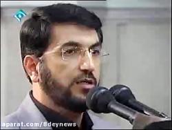 فیلم همخوانی مردم گیلان در دیدار با رهبر انقلاب؛ فرزند میرزاییم...