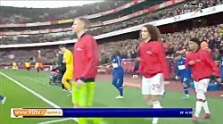 خلاصه لیگ برتر انگلیس: آرسنال 1-2 چلسی