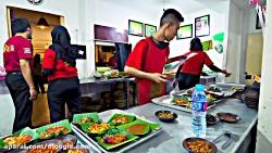 جاذبه های غذایی - چالش غذایی تند درجاکارتا