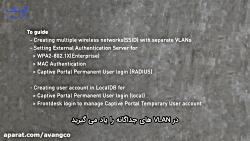 راه اندازی چندینSSID با Authentication های متفاوت روی کنترلر های سری DWC
