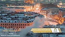 زمستان زیبای سنت پترزبورگ