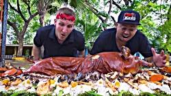 جاذبه های غذایی - شکاردرجنگل های فلیپین