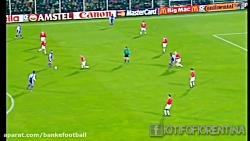 بازی نوستالژیک فیورنتینا - منچستر یونایتد در لیگ قهرمانان اروپا