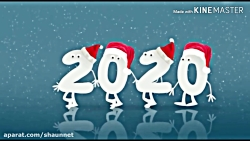 Happy New Year 2020 سال نو میلادی 2020 بر همه مبارک باد