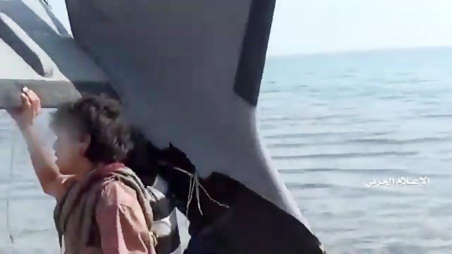 فیلم دیدنی از سرنگونی پهپاد جاسوسی سعودی به نام «کاریال»