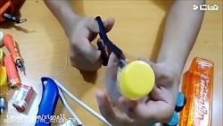 ساخت ماشین به کمک بطری پلاستیکی