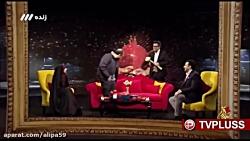 شوخی با لگن مهران غفوریان در تلویزیون