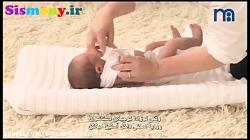 راحترین شیوه پوشاندن لباس به نوزاد