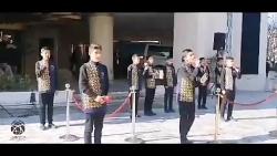 سرود خیابانی نوجوانان بعد از نماز جمعه مشهد به مناسب شهادت حاج قاسم سلیمانی