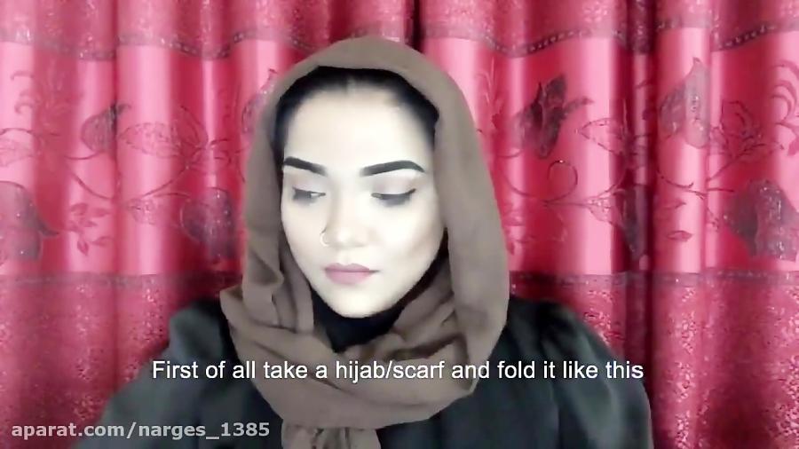 آموزش بستن روسری برای زمستان135