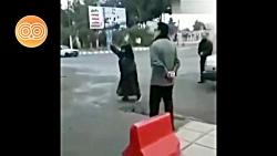 گریه های مادر قاسم سلیمانی