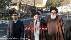 ورود رئیس قوه قضاییه به البرز