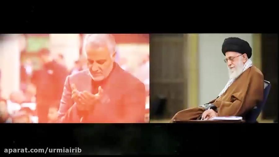 پیام رهبر انقلاب در پی شهادت سردار شهید سپهبد قاسم سلیمانی