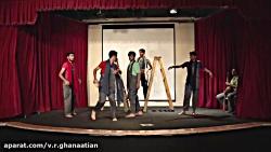 نمايش دانش آموزي/نمايش صحنه اي/ بازي بازي يك جنگ تماشا/اميررضا احمدي/ جشنواره 36