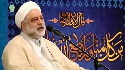 واکنش زاعران حرم رضوی به اعلام خبر شهادت سردار سلیمانی در مراسم دعای ندبه ی دیرو