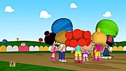 انیمیشن کودکانه آموزش زبان انگلیسی - Surprise Party Cartoon