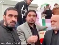 تصاویری از آخرین حضور سردار شهید حاج قاسم سلیمانی در عراق و انتقال به ایران