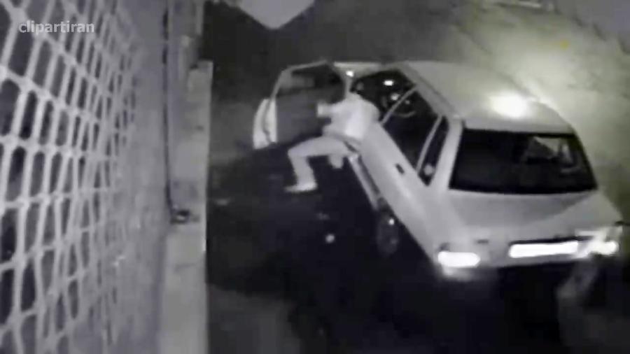 تعقیب و گریز پلیس با سارقان حرفه ای خودر   روشهای سرقت ماشین