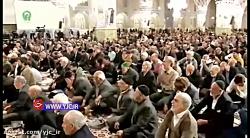 وکنش مردم به لحظه اعلام خبر شهادت سردار سلیمانی در حرم رضوی