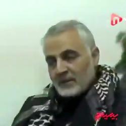 عشقی بخدا.. حاج قاسم روضه می خواند...