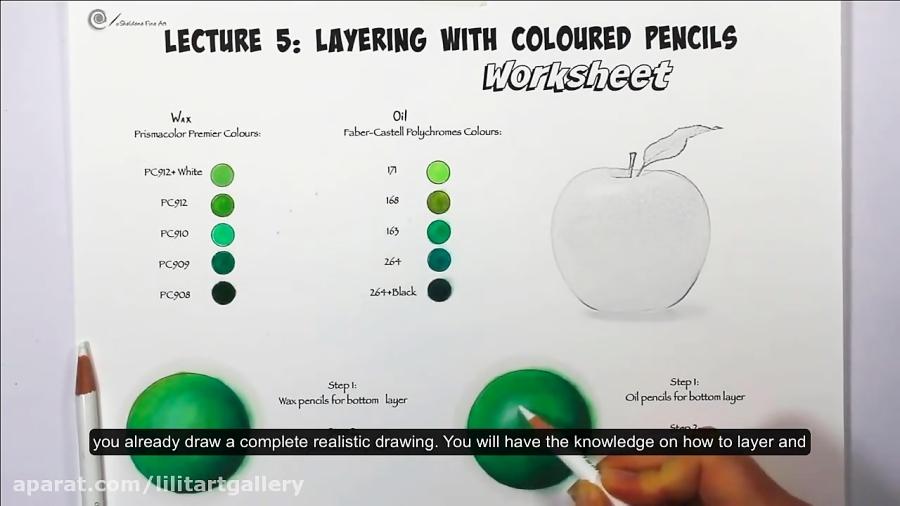 اهمیت لایههای رنگی در طبیعی و برجسته نشان دادن نقاشی