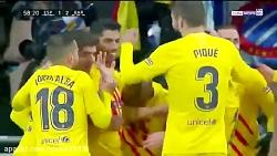 خلاصه بازی بارسلونا 2-2 اسپانیول در هفته نوزدهم لالیگا 2020