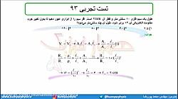 جلسه 94 فیزیک یازدهم - عوامل موثر بر مقاومت الکتریکی 7 تست تجربی 93