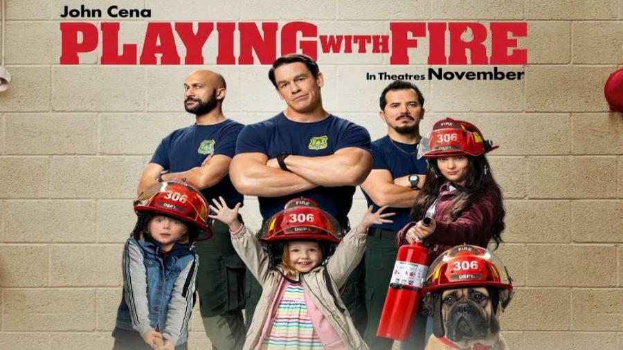 تریلر فیلم Playing With Fire + مصاحبه با عوامل فیلم (با زیرنویس فارسی)