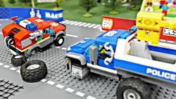 بازی با لگو ، ماشین های آزمایشی و پلیس