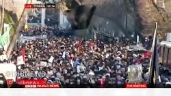 مراسم تشییع پیکر سردار سپهبد شهید قاسم سلیمانی در تهران از شبکه بی بی سی
