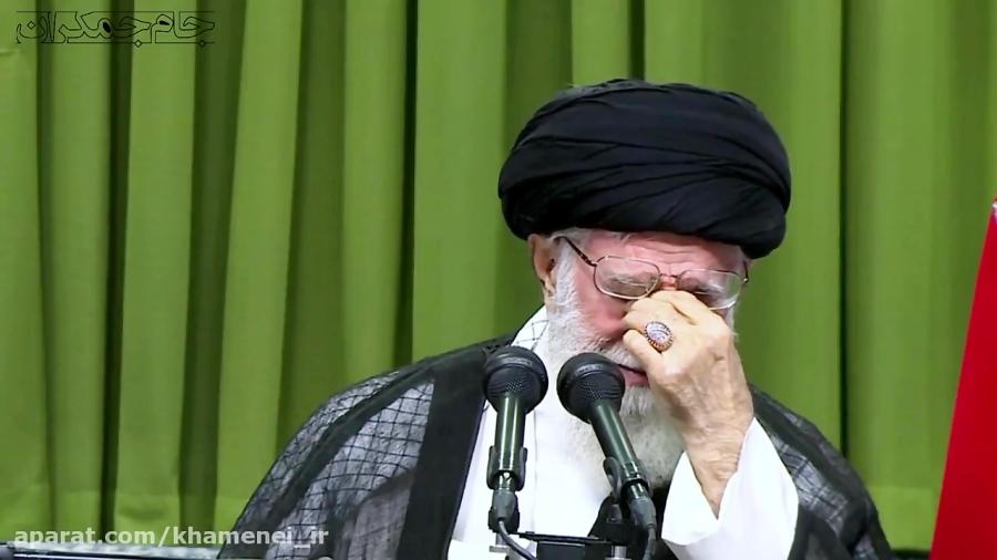 کلیپ تسلیت شهادت سردار سلیمانی به رهبر انقلاب