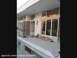 تعویض پنجره های قدیمی ساختمان با پنجره دوجداره در 4 مرحله در اصفهان 09131132026