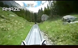 یه سرسره عالی در سوئیس