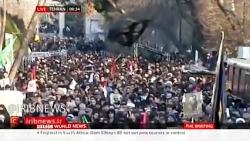 پخش زنده تشییع سردارسلیمانی از شبکه بی بی سی - تهران