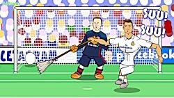 10 داستانِ کارتونی بامزه از کریستیانو رونالدو!