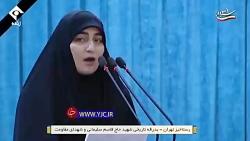 دختر شهید سلیمانی خطاب به رهبر انقلاب: آقاجان نکند
