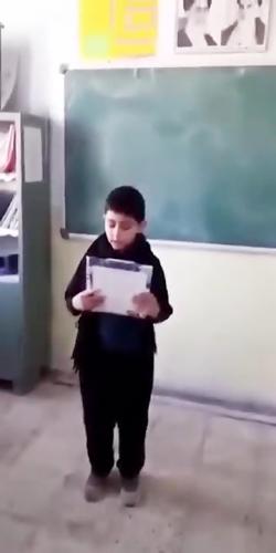 بزرگداشت سردار سلیمانی در مدارس