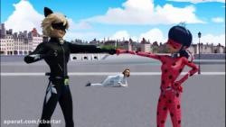 میراکلس: ماجراجویی در پاریس قسمت 17 فصل دوم - لیدی باگ با دوبله فارسی