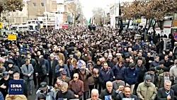 عزاداری و بزرگداشت سردار سلیمانی در شهرهای مختلف