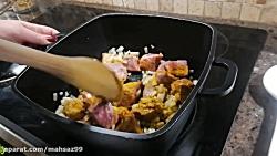 طرز تهیه خورشت کرفس مجلسی،فوق العاده خوشمزه و آسان512