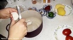 طرز تهیه خورشت لوبیا سفید غذای اصیل و سنتی ایرانی435