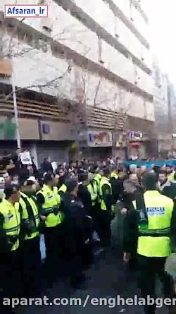 درخواست مردمی #انتقام_سخت از سردار سلامی با شعار «انتقام انتقام»